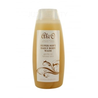 Abi O Super Soft Daily Body Wash 250ml (Gentle on Tanned Skin)
