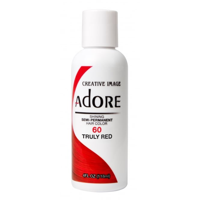 Adore Shining Semi Permanent Hair Colour 60 Truly Red 118ml
