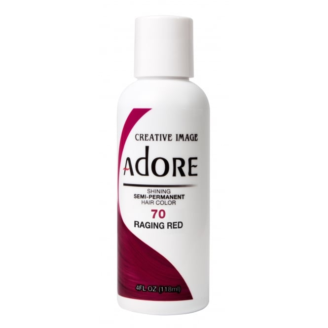 Adore Shining Semi Permanent Hair Colour 70 Raging Red 118ml