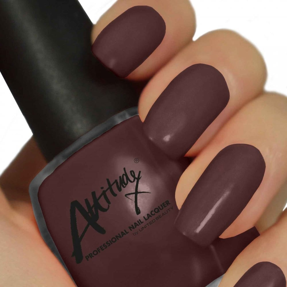Attitude Gel Nail Polish Colour: Mocha Magic 15ml - Nails from Just ...