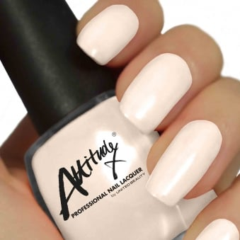Attitude Gel Nail Polish Colour: Peaches & Cream 15ml