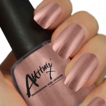 Attitude Gel Nail Polish Colour: Vintage Rose 15ml