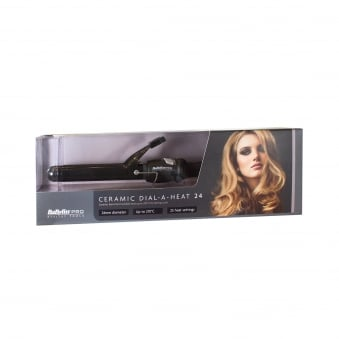 Babyliss Pro Ceramic Dial A Heat Hair Tongs 24MM