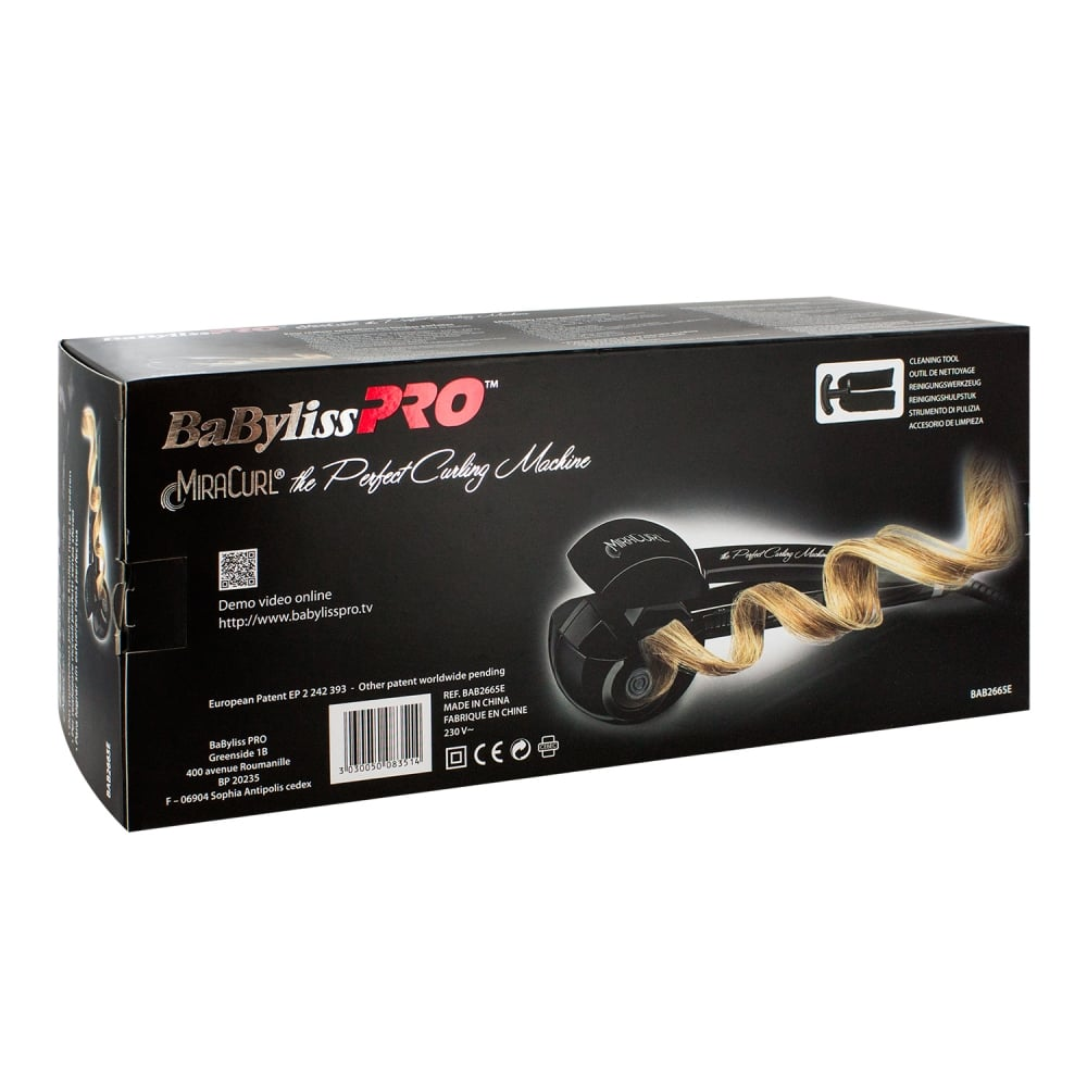 Babyliss PRO MiraCurl Professional Hair Curler Curling Iron Steam  BAB2665E  11c68b5a5dd