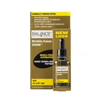 Balance Active Formula Wrinkle Freeze Serum 30ml Anti-Ageing