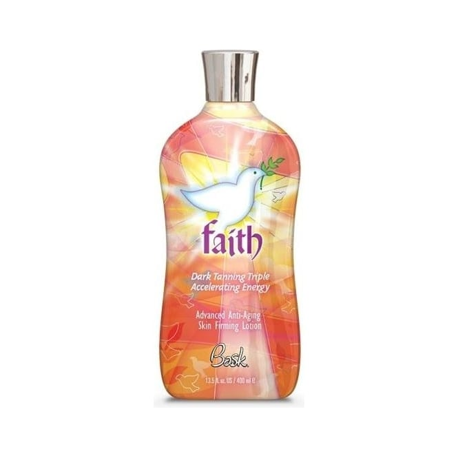 Bask Faith Dark Tanning Firming Lotion 400ml