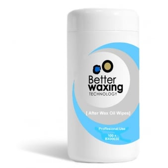 Better Waxing Afterwax Oil Free Wipes 100pcs