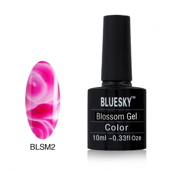 Bluesky Blossom Magenta Gel Polish 10ml