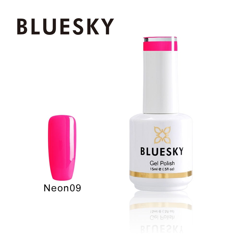 Bluesky Nail Gel Polish 09 Colour Neon Party Pink - Nails from Just ...