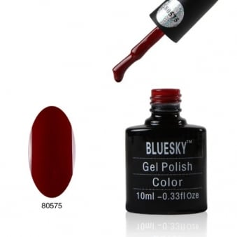 BLUESKY Paradise Red Gel Polish 10ml - 80575