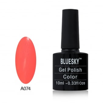 BLUESKY Pastel Rose Gel Polish 10ml - A74
