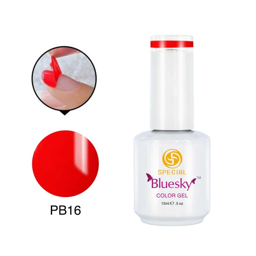 Bluesky BLUESKY Peel Off Coral Gel Polish 15ml - PB16 - Nails from ...