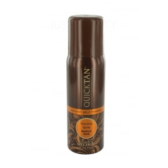 Body Drench Instant Quick tan Self-Tanning Medium Dark Sunless Bronzer Spray 56g