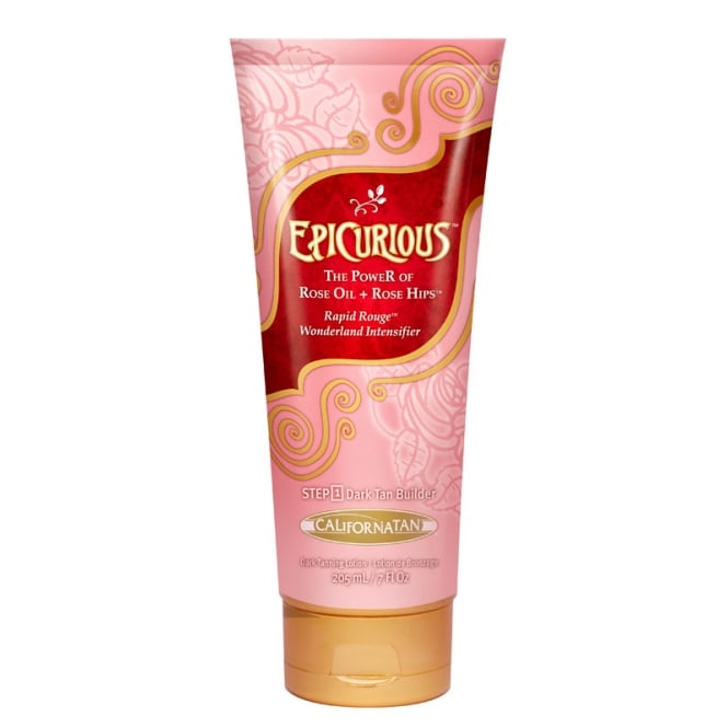 California Tan Epicurious Rose Oil Intensifier 205ml