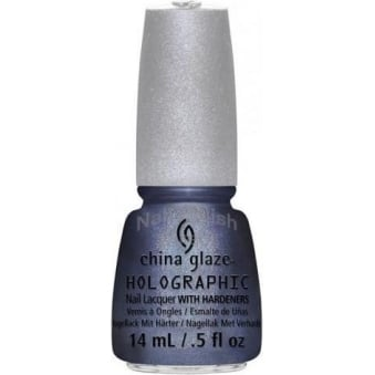 China Glaze Holographic Nail Polish with Hardeners 14ml