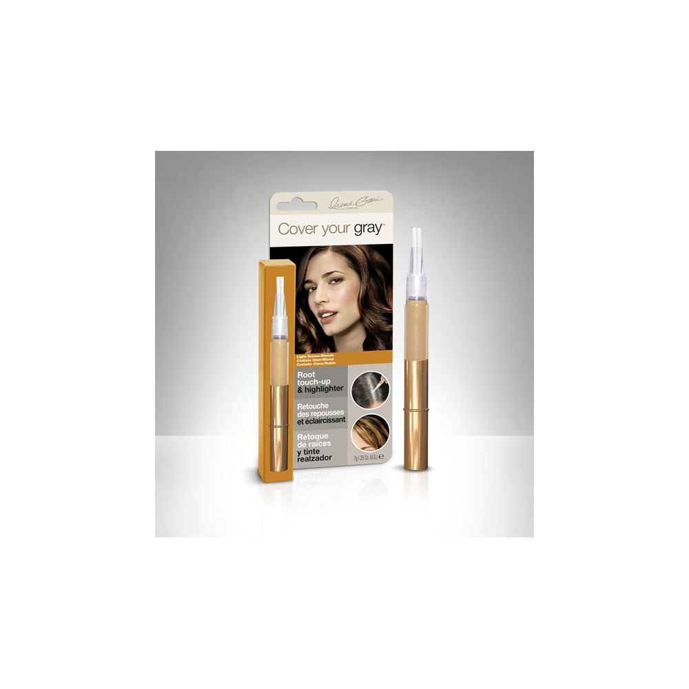 Cover Your Gray Root Touch Up Hair Colour Fill In Light Brown