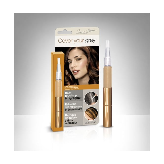 Cover Your Gray Root Touch Up Hair Colour Fill In - Light Brown
