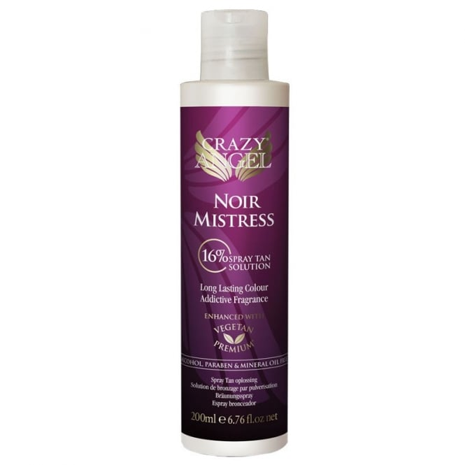 Crazy Angel Noir Mistress 16% DHA Salon Spray, 200ml