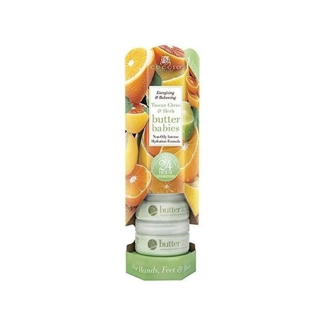 Cuccio Naturale Butter Babies Tuscan Citrus Herb (6 Pack)