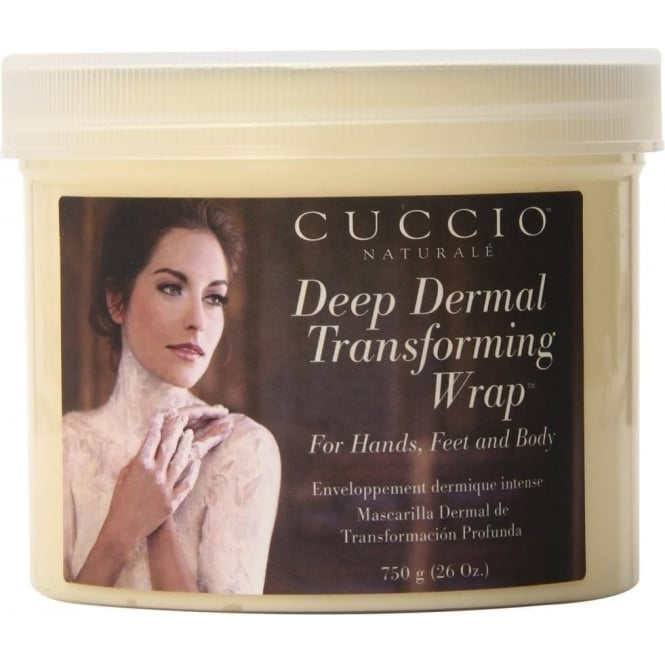 Cuccio Naturale Deep Dermal Transforming Wrap For Hands, Feet and Body, 750g