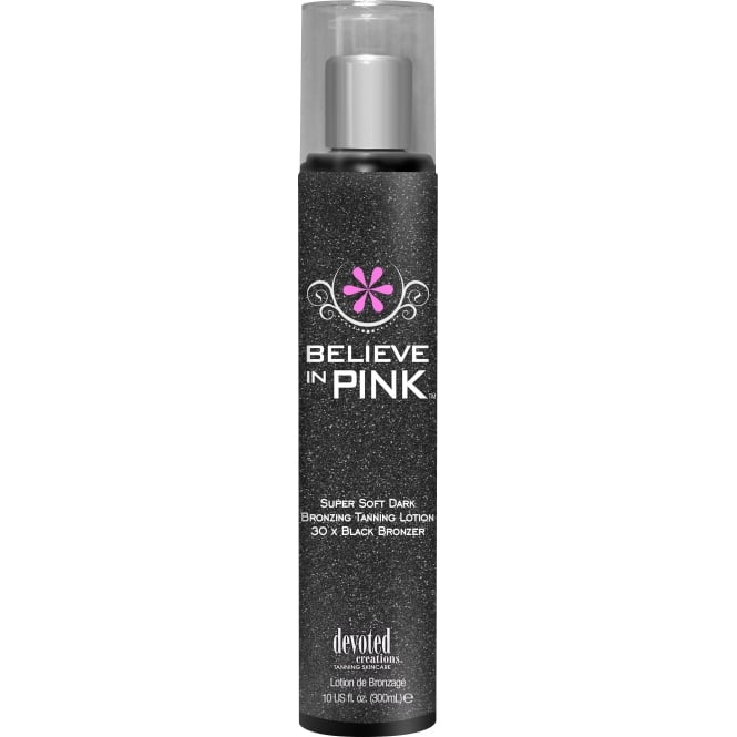 Devoted Creations Believe In Pink Tanning Lotion 300ml