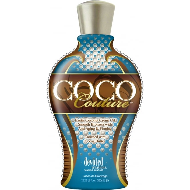 Devoted Creations Coco Couture Smooth Bronzer Sunbed Lotion 360ml