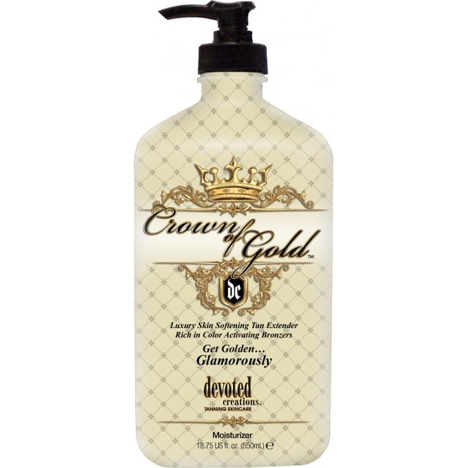 Devoted Creations Crown Of Gold Skin Softening Tan Extender 550ml
