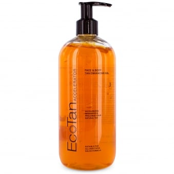 Eco Tan Accelerator Face and Body Tanning Gel 500ml