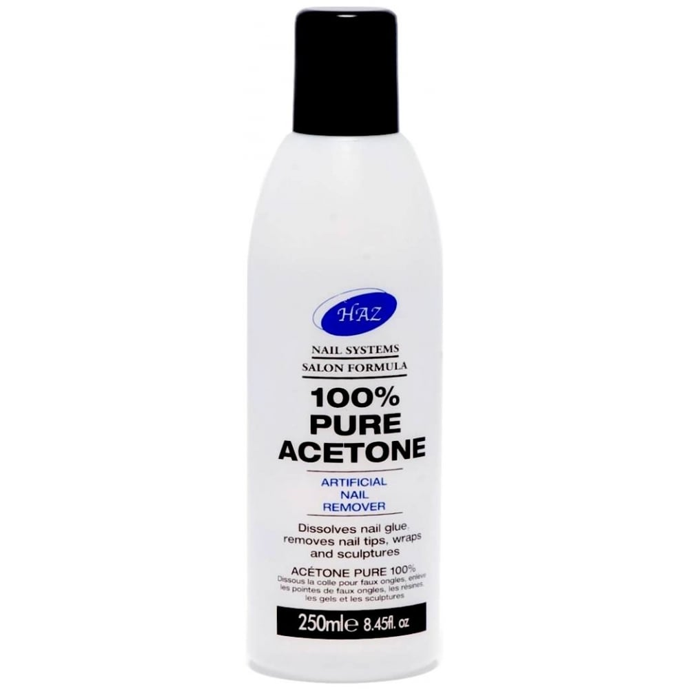 HAZ Pure Acetone Nail Polish Remover 250Ml - Nails from Just Beauty UK
