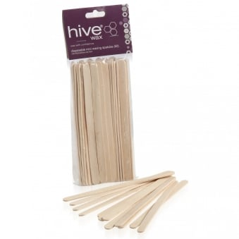 Hive Options Disposable Wooden Spatulas X 50