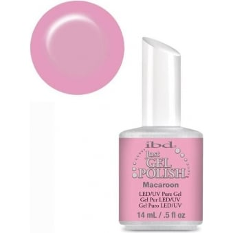 IBD Just Gel Macaroon Pink Gel Polish 14ml