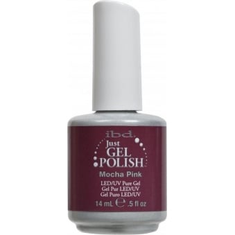 IBD Just Gel Mocha Pink Gel Polish 14ml