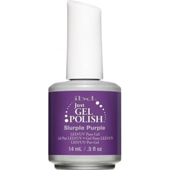 IBD Just Gel Slurpl Purple Gel Polish 14ml