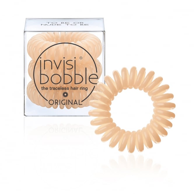 Invisibobble Original Traceless Hair Ring & Band To Be Or Nude To Be Pack Of 3