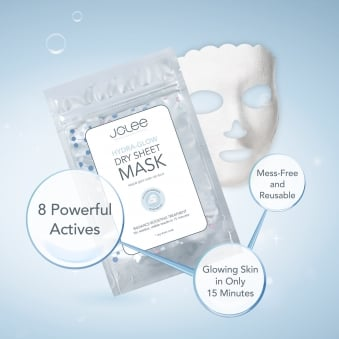 Jolee Hydra-Glow Facial Dry Sheet Mask