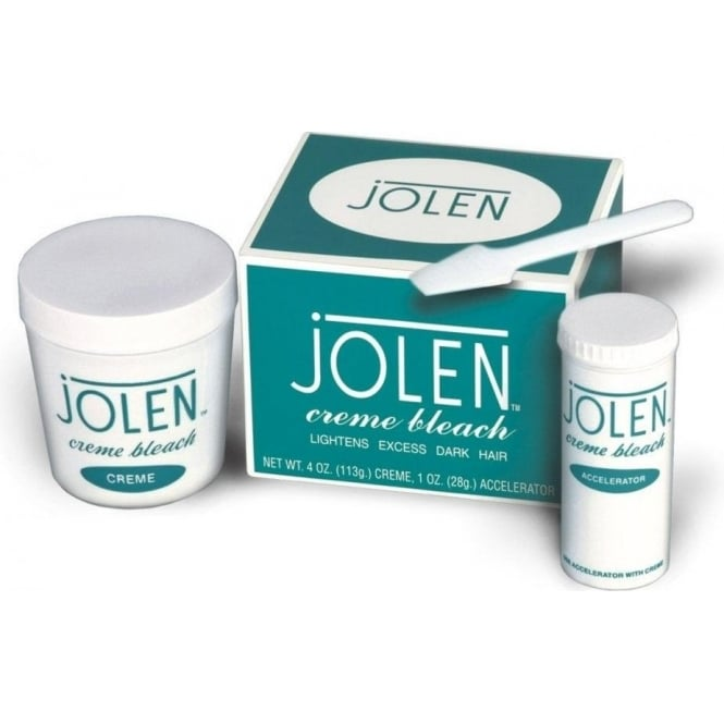 Jolen Creme Bleach Lightens Face Hair