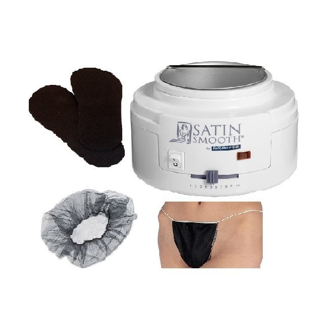 Just Beauty Babyliss Pro Satin Smooth Waxing Warmer & Accessories Kit