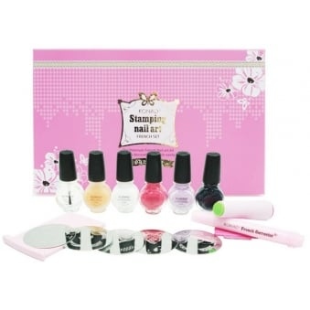 Konad Stamping Nail Art Premium French Set