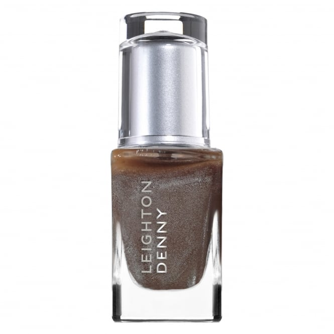 Leighton Denny High Performance Metallic Mink   Colour Nail Polish 12ml