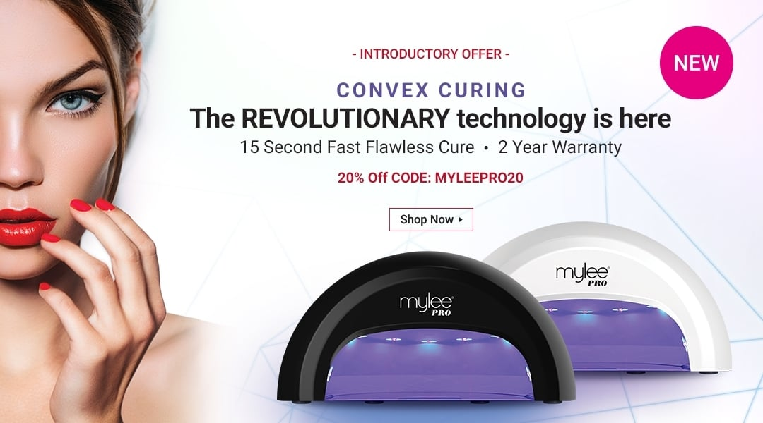 Mylee Convex LED Nail Drying Lamp