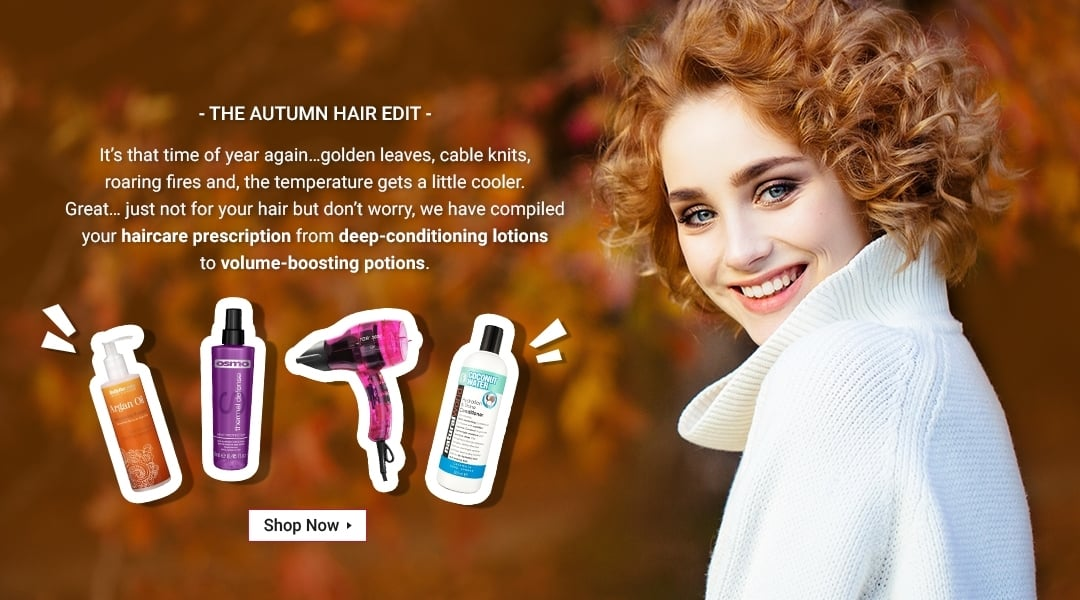 Autumn Hair Promo Banner