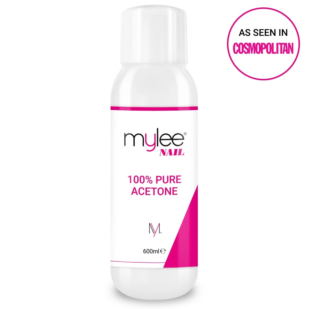 Mylee 100% Pure Acetone Nail Polish Remover 600ml - Nails from Just ...