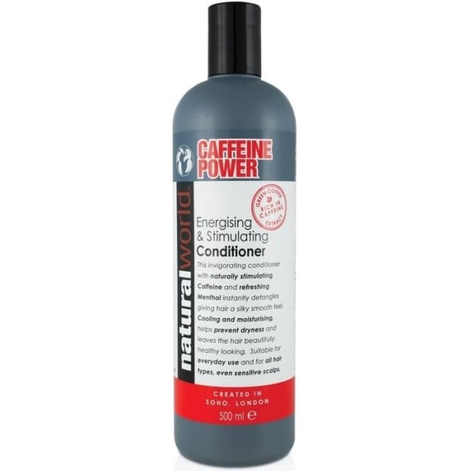 Natural World Caffeine Energising and Stimulating Conditioner 500ml Strength