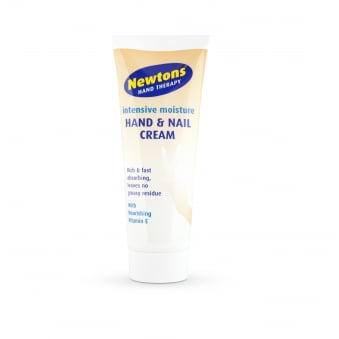 Newtons Intensive Moisture Hand & Nail Cream Vitamin E 75ml Non Greasy