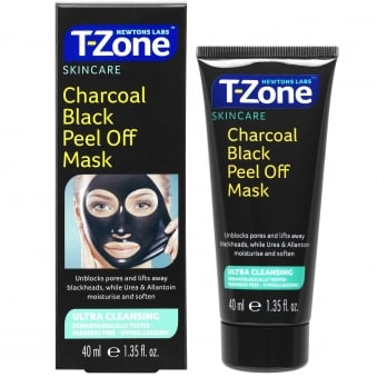 Newtons Labs T-Zone Charcoal Black Peel Off Mask, 40 ml