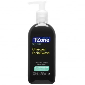 Newtons Labs T-Zone Charcoal Facial Wash 200 ml