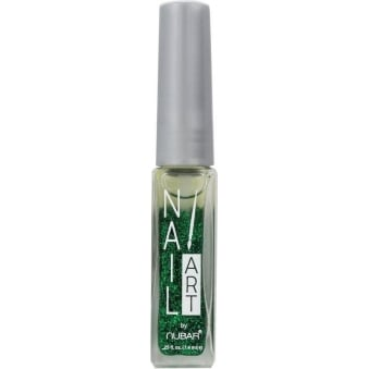 Nubar Grass Green Glitter Nail Art Stripers Nail Decoration 7.4ml