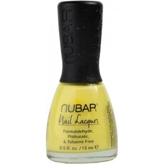 Nubar Lemon Sherbet Nail Polish 15ml