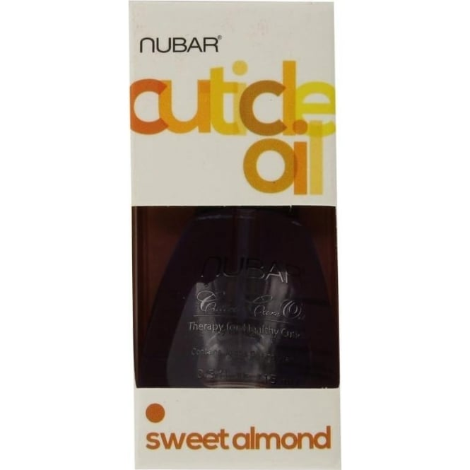 Nubar Sweet Almond Oil Soothes & Softens Cuticles 15ml