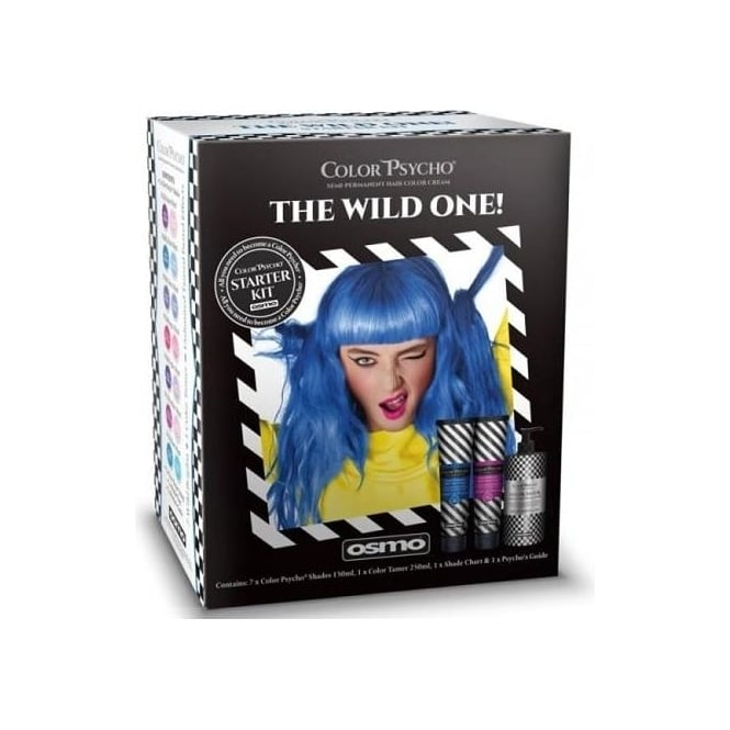 Color Psycho Osmo Semi Permanent Hair Color Cream Kit